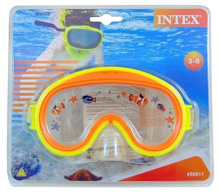 c2902e9f9b Amazon.com   Intex Mini Aviator Swim Masks - Assorted Colors ...