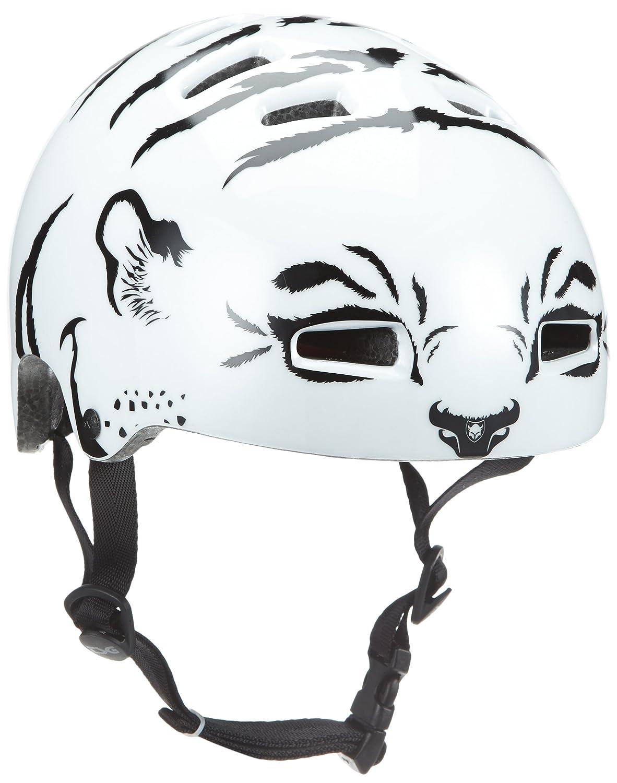 TSG Kinder Helm Nipper Graphic Design Mini weiß 48-51cm 750048