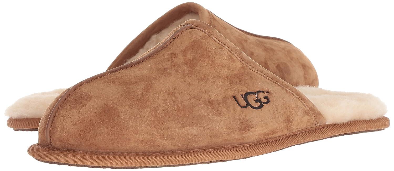 f24b63d023d UGG Men's Scuff Slipper, Chestnut, 17 M US: Amazon.co.uk: Shoes & Bags