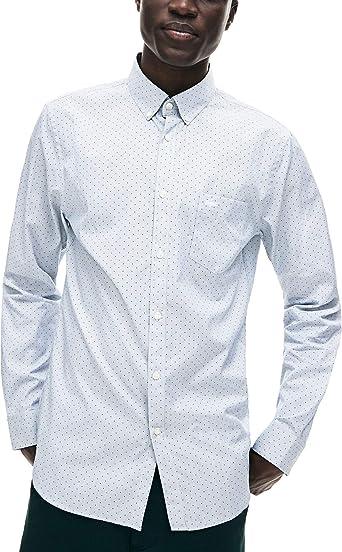 Lacoste Camisa CH9743 - Color - Azul Marino, Talla - 40 ...