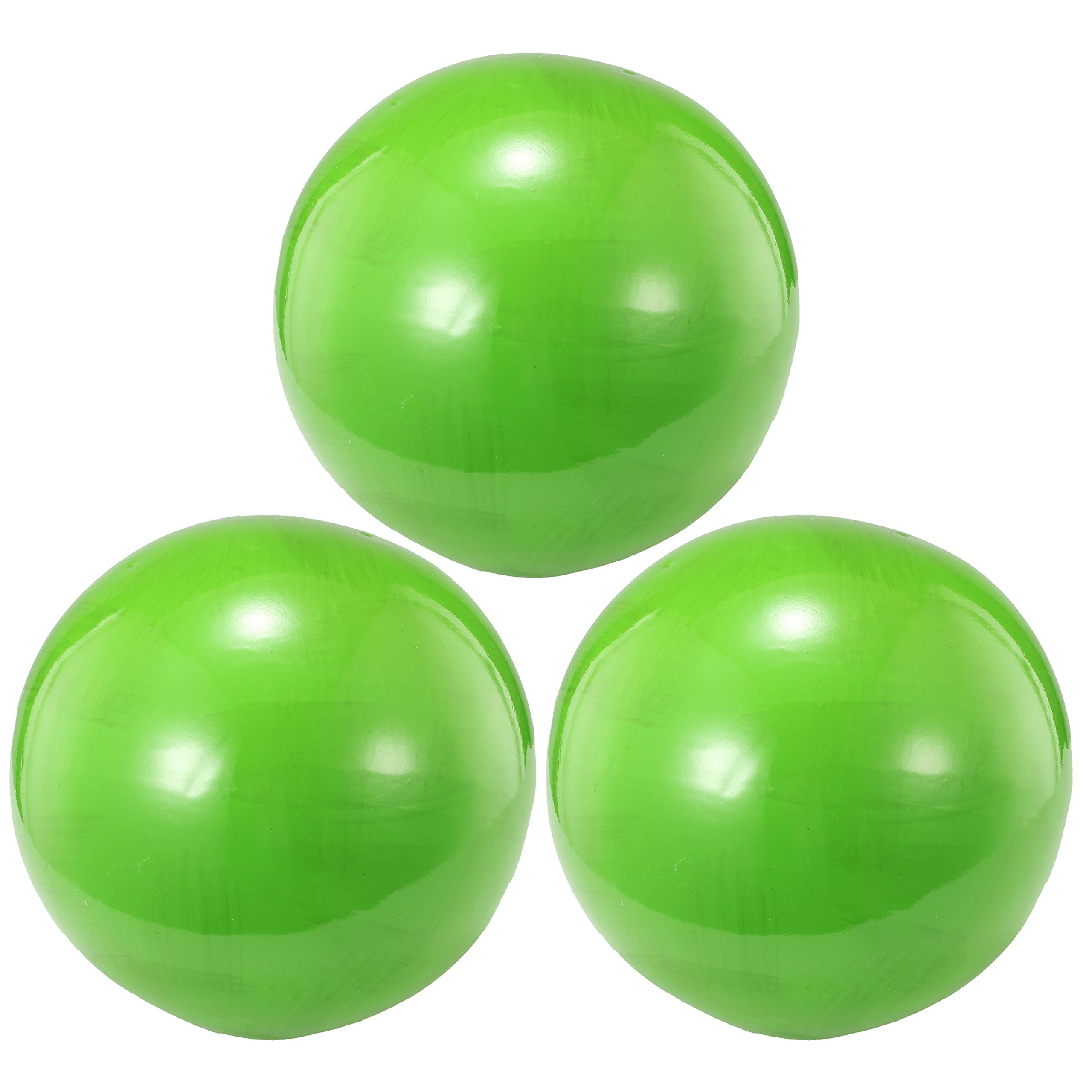A & B Home Inc. Decorative Lime Green 4-inch x 4-inch Balls (Set of 3) by A & B Home Inc.