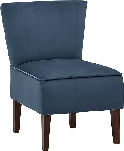 Deal of the week: Amazon Brand Rivet Ashworth Armless Velvet Accent Chair
