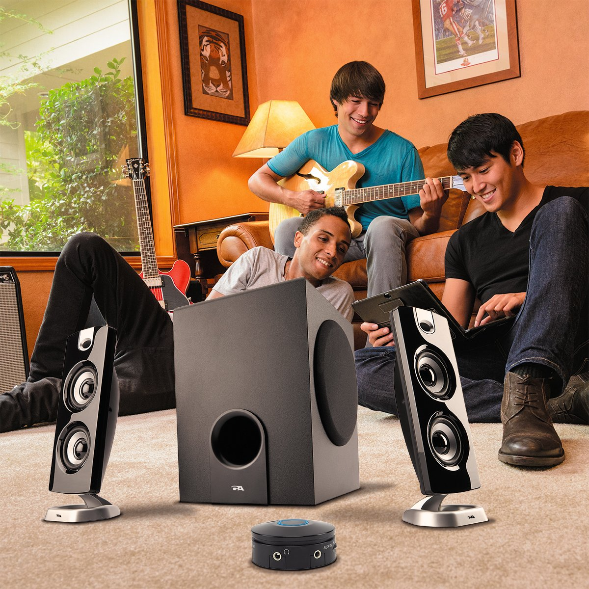 Cyber Acoustics CA-3602a 62W Desktop Computer Speaker with Subwoofer - Perfect 2.1 Gaming and Multimedia PC speakers by Cyber Acoustics (Image #7)