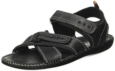 57d31fc1efc8b Action Shoes Men's Leather Sandals