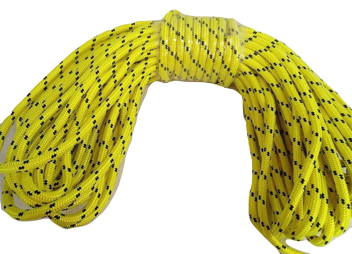 1/2'' By 125' Arborist Rigging Rope, Yellow by Blue Ox Rope (Image #1)