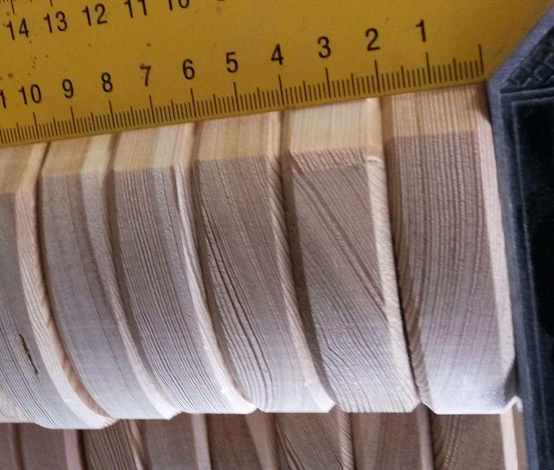 26 Stück Zaunlatten sibirische Lärche 80cm 95x20mm Amazon