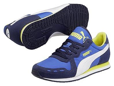 Puma Women s Cabana Racer Fun Trainers Blue Size  7.5  Amazon.co.uk ... e594476c2a
