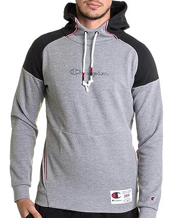 Champion - Sweat Bleu à Capuche Grise 212176 de Marque pour Homme -  Couleur  Gris - Taille  XS  Amazon.fr  Vêtements et accessoires d6af426531b5
