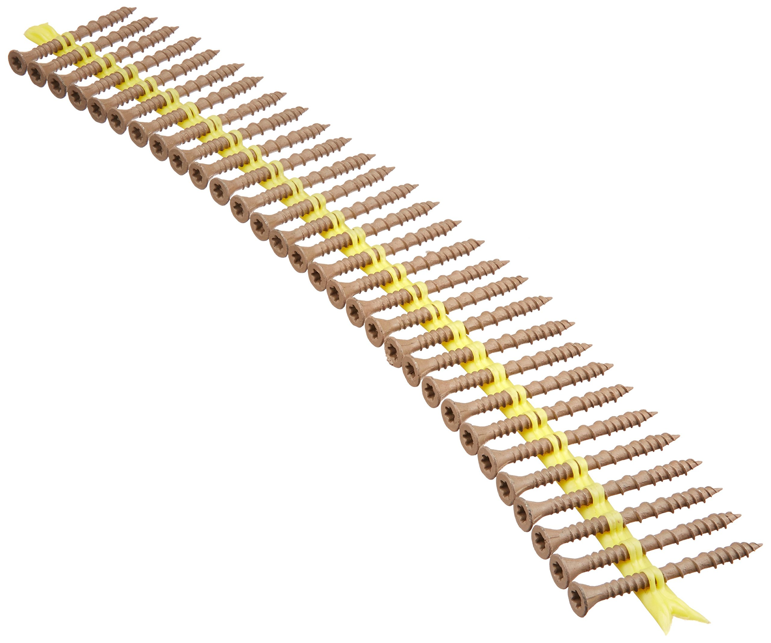 Simpson Strong Tie DSVT2S Quick Drive Collated Decking Screw, No 10 X 2 in