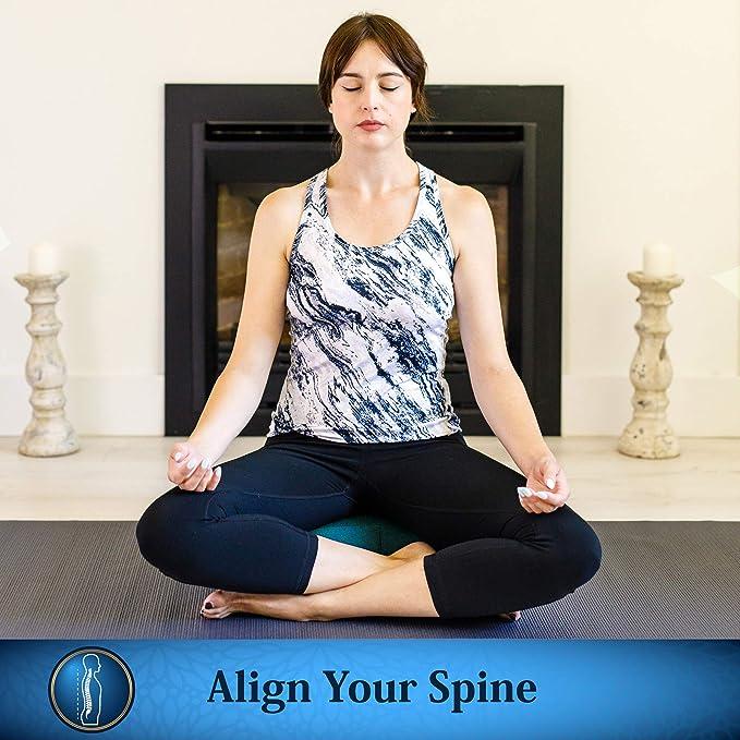 Seat Of Your Soul Trigo sarraceno Relleno Yoga cojín de ...