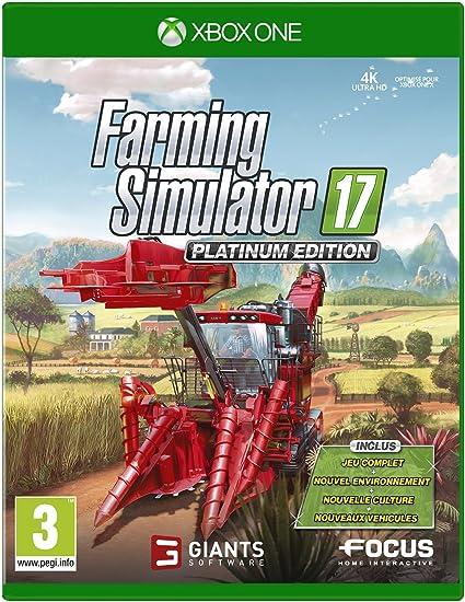 Farming Simulator 17 - Edition Platinum - Xbox One [Importación ...
