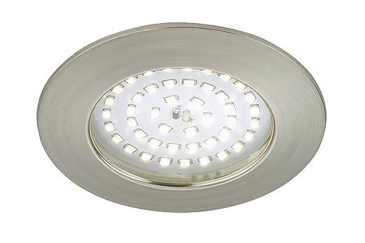 Briloner Leuchten 7206-012 LED Einbauleuchte, Einbaustrahler, LED ...