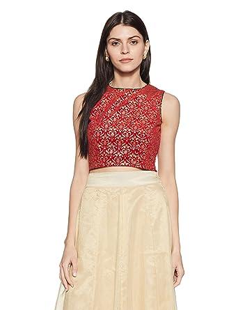 9cb5dbff65 BIBA Women's Crop Top: Amazon.in: Clothing & Accessories