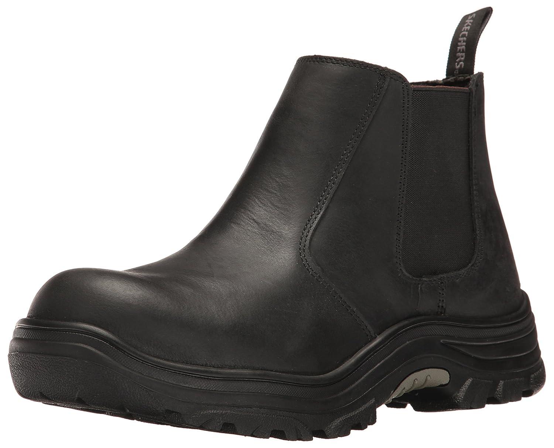 83dc9942 Skechers Mens Burgin Glennert Work Boot: Amazon.ca: Shoes & Handbags