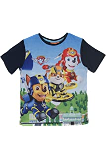 Aelstores Paw Patrol /& Avenger T-shirts for Boys Casual Tees Short Sleeves