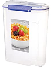 Sistema Klip It Cereal Container, Clear
