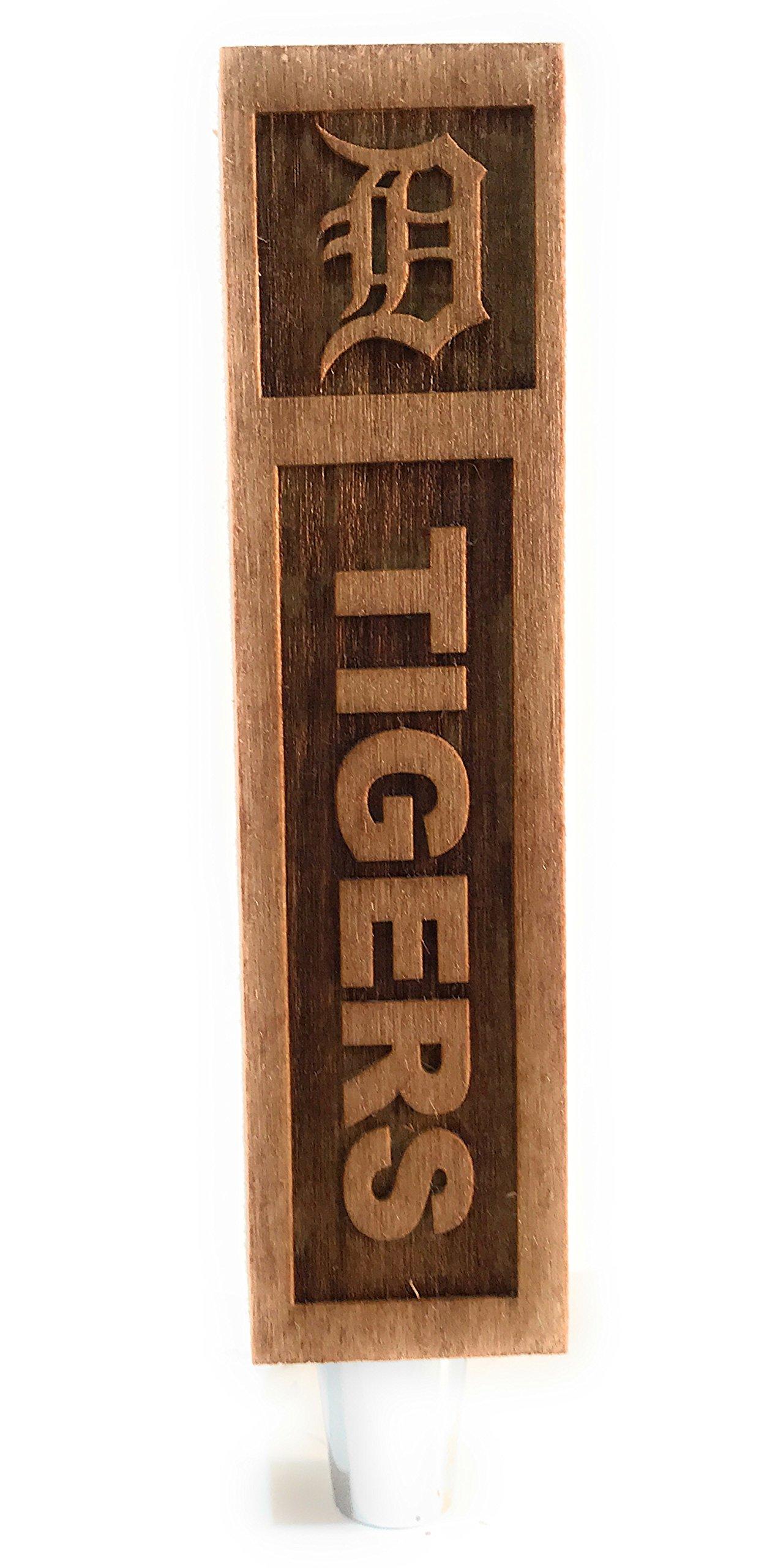 Detroit Tigers Engraved Beer Tap Handles