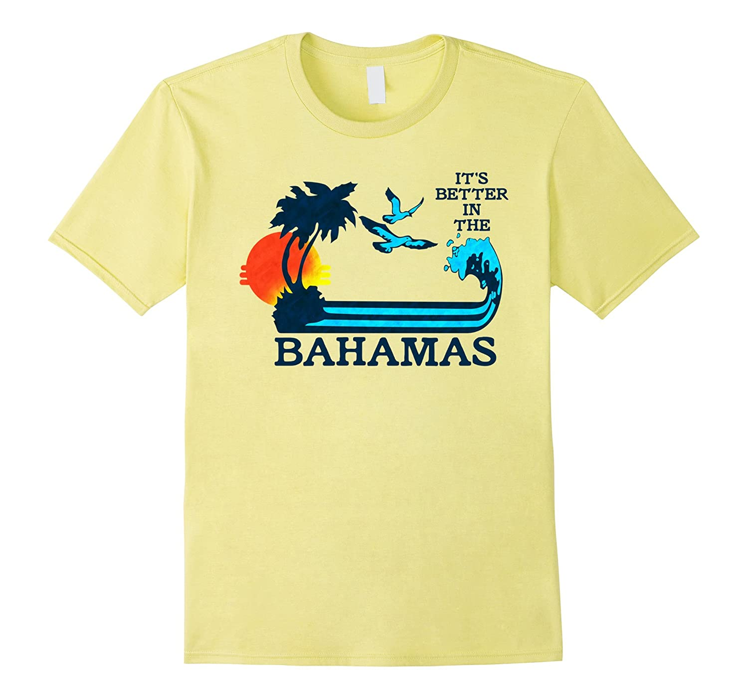 377ee07f40a2b Its Better in the Bahamas Vintage 80s 70s T-Shirt-RT