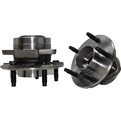 Brand New (Both) Front Wheel Hub and Bearing Assembly for Saturn Vue 5 Lug without ABS (Pair) 513190 x2: Automotive