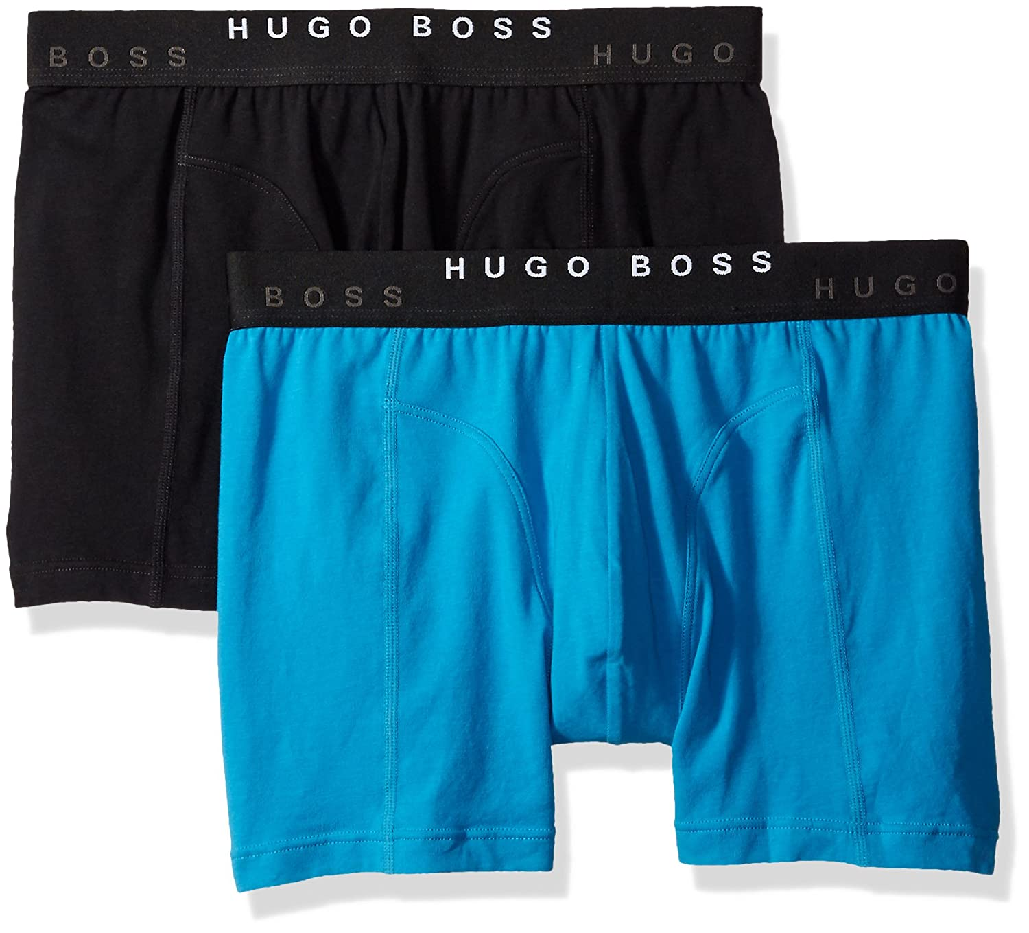 BOSS Hugo Boss Mens Cyclist Solid 2-Pack