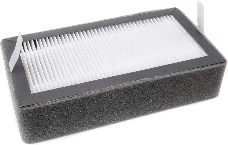 vhbw Filtro para Diversos purificadores de Aire, extractores de Humo por ej. Klarstein Vita Pure
