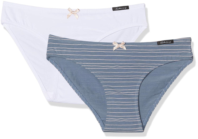 Skiny Mädchen Unterhose, 2er Pack Skiny Mädchen Unterhose 036353