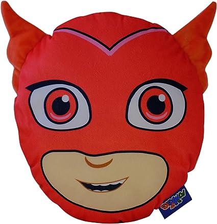 PJ máscaras Owlette Pijama Caso Cojín, Rojo