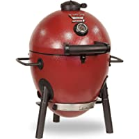 Char-Griller Akorn Jr. Kamado Kooker Charcoal Grill - Red