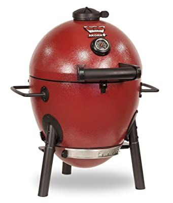 Char-Griller E06614 AKORN Jr, Red Charcoal kamado Grill