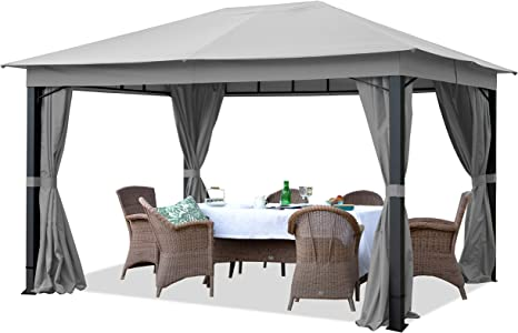 TOOLPORT Cenador de jardín 3x4m ALU Premium Aprox. 220g/m² ...