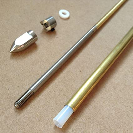 Stainless Steel 8mm//4mm Marine Prop Shafts For RC Boat