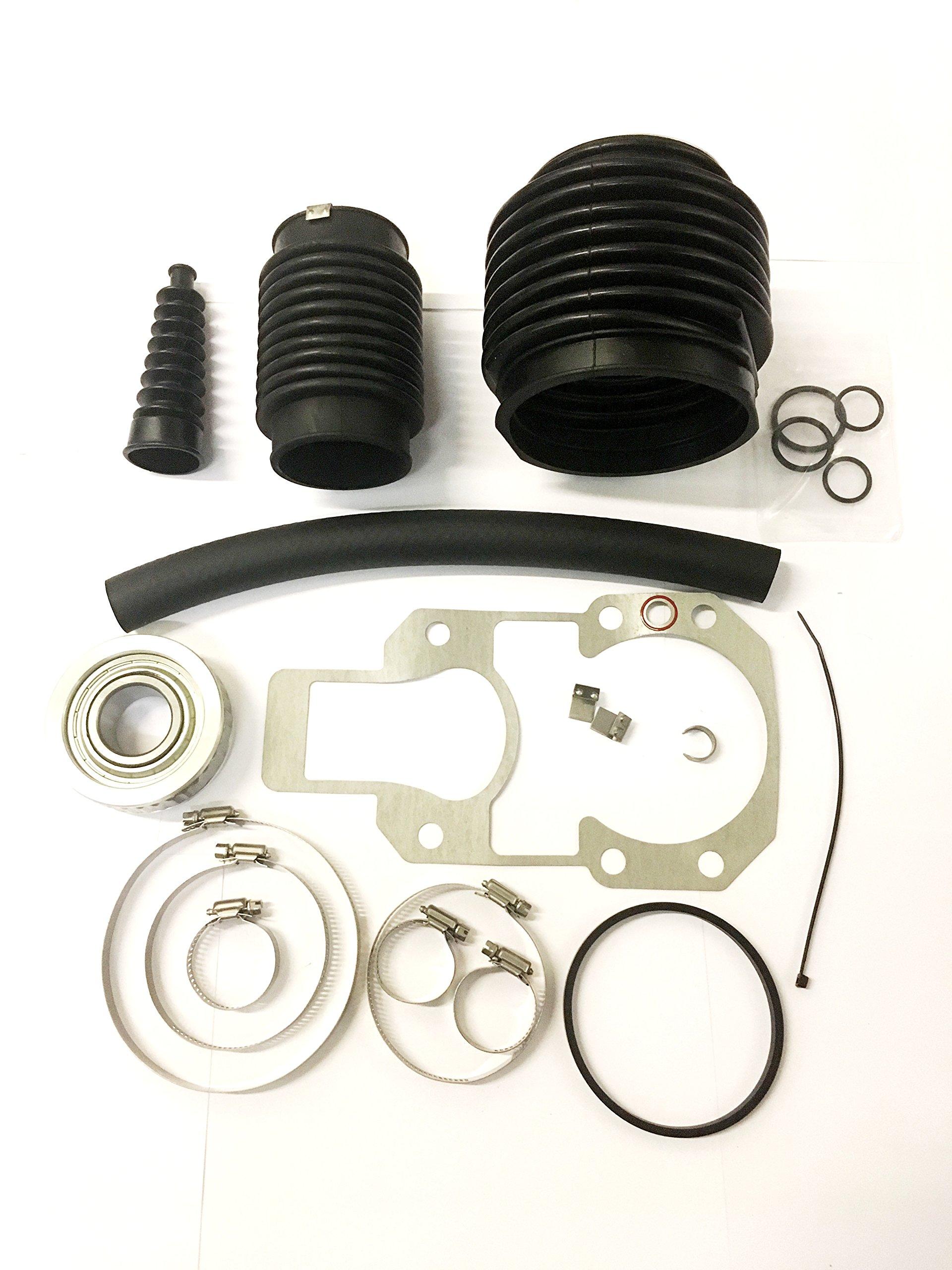 Automotive Authority MerCruiser Alpha one 1 Gen 2 two Transom Bellows Repair Reseal Kit 30-803099T1
