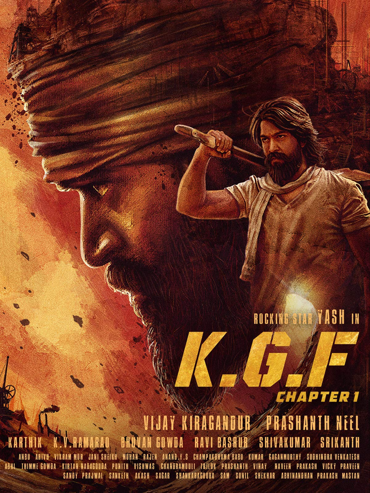 K.G.F: Chapter 1 (2018) Hindi Dubbed