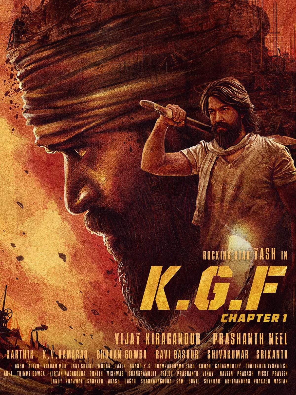 K.G.F: Chapter 1 (Hindi) on Amazon Prime Video UK