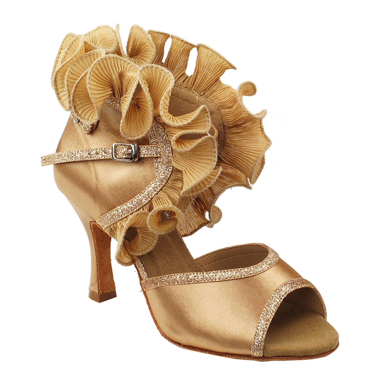 ラウンド  [Gold 5 Pigeon Shoes] レディース B075J1SYKP Gold Heel 3