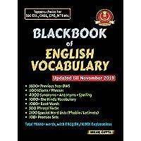 Blackbook of English Vocabulary (SSC Vocabulary) New Hardcopy Updated Edition November 2019