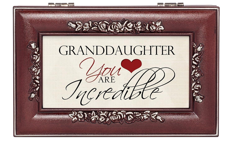 【残りわずか】 Incredible You Granddaughterローズウッド仕上げ音楽ジュエリーボックス – Plays You Incredible Are Are My Sunshine B01DL1NCEA, 越路町:5e77ea12 --- arcego.dominiotemporario.com