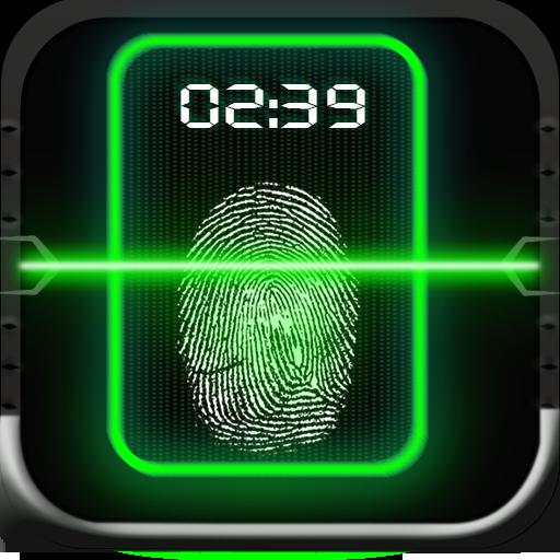 Fingerprint app Lock Simulator