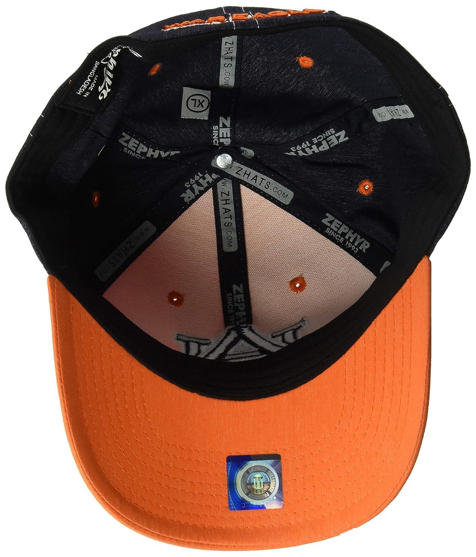 Zephyr Mens Clash Waterproof Performance Cap Medium//Large Orange