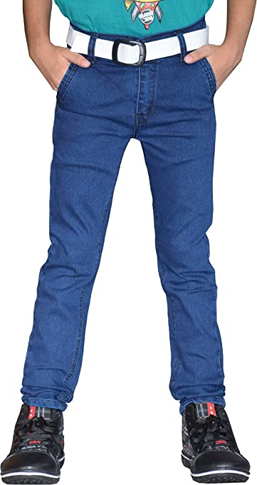 Tara Lifestyle Denim Jeans Pant for Kids, Boys Denim Jeans Pant - 7001-BL Boys' Jeans at amazon