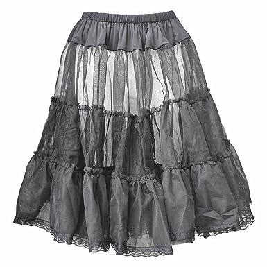 Black Net Petticoat Skirt For Vintage and Prom Dresses [08/10]