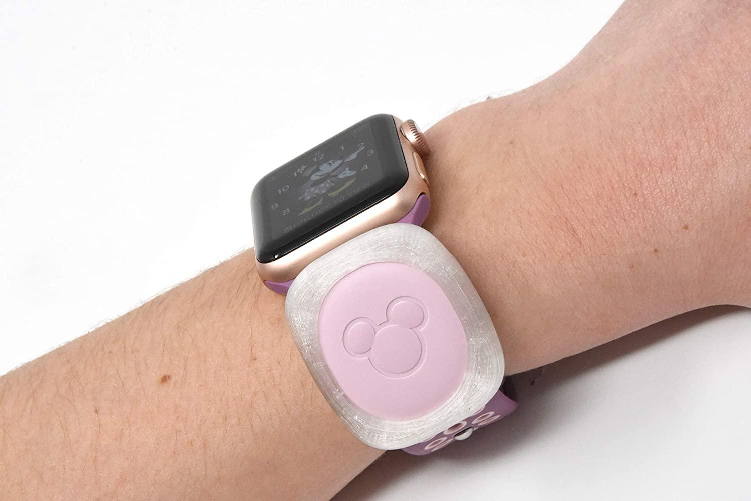 Luke3DP Watch Adapter Compatible with Disney Magic Band (Traditional Watch)