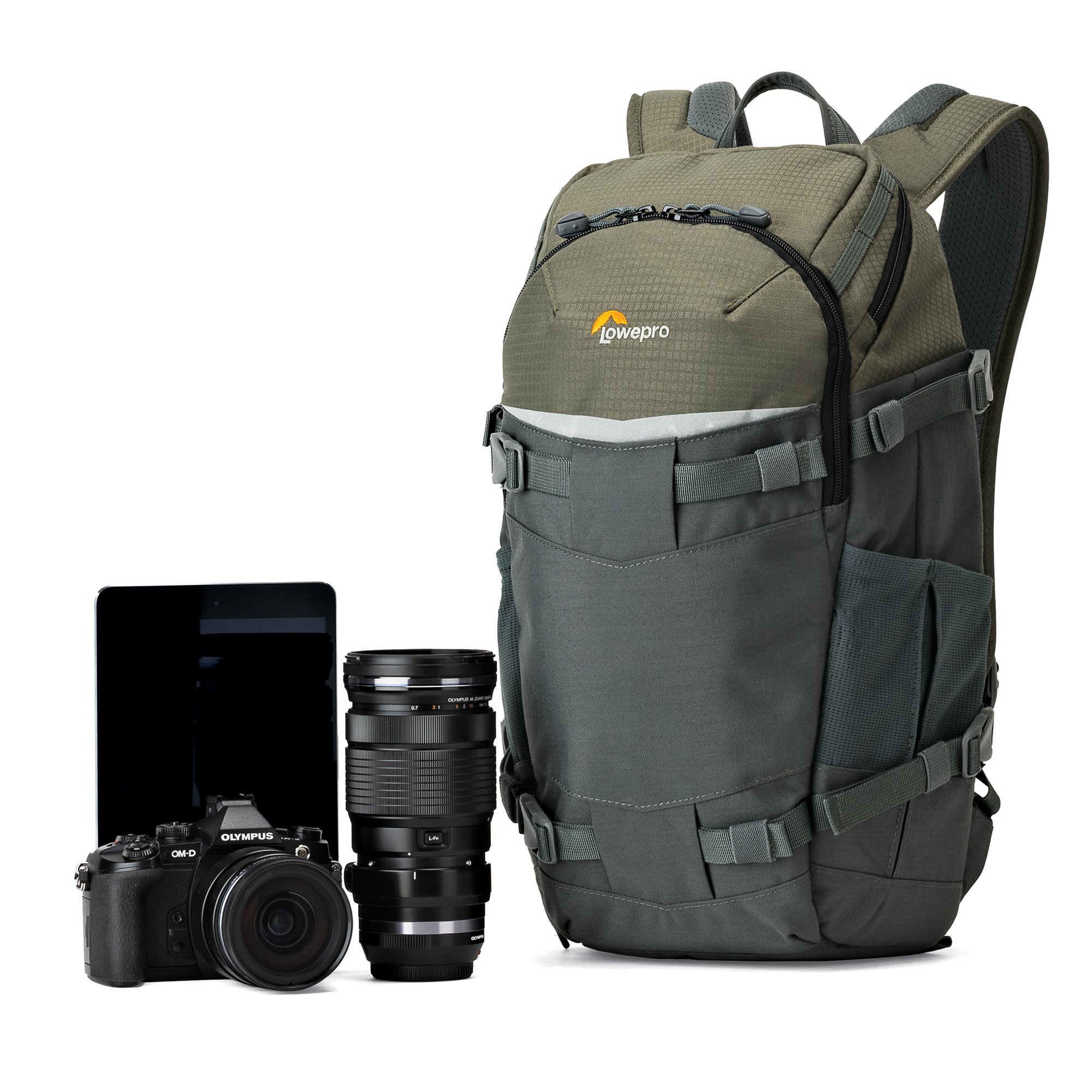 Lowepro Flipside Trek BP 250 AW - Outdoor Camera Backpack for Mirrorless or Compact DSLR w/ Rain Cover and Tablet Pocket. by Lowepro (Image #3)