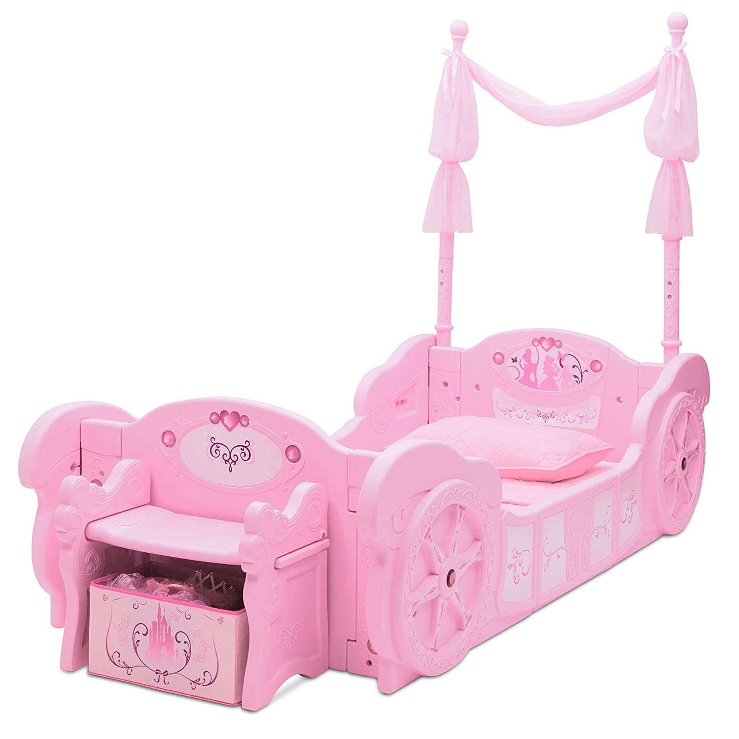 Amazon Delta Children Disney Princess Carriage Toddler to