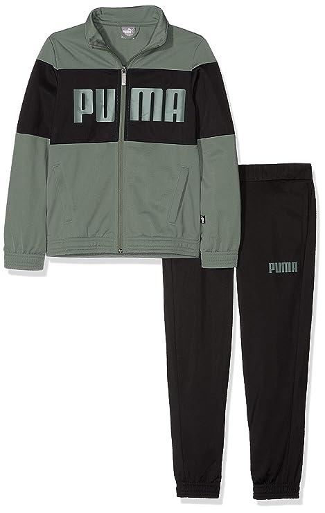 on sale c764e 7ecdb Puma Rebel Suit B Tuta da Ragazzo, Ragazzo, 852132, Laurel Wreath, 128