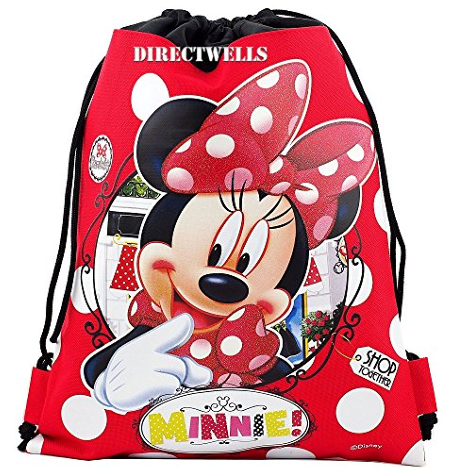 Disney Authentic Licensed Drawstring Backpack Image 3