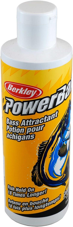 Berkley PowerBait Attractant , Bass Scent, 8-Ounce