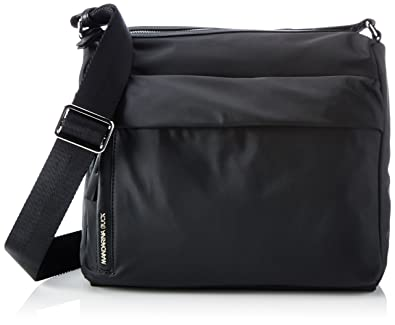 e188d903c4 Mandarina Duck Hunter Tracolla, Women's Shoulder Bag, Black, 13.5x24x29 cm  (B