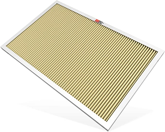 K&N 16x25x1 HVAC Furnace Air Filter; Lasts a Lifetime