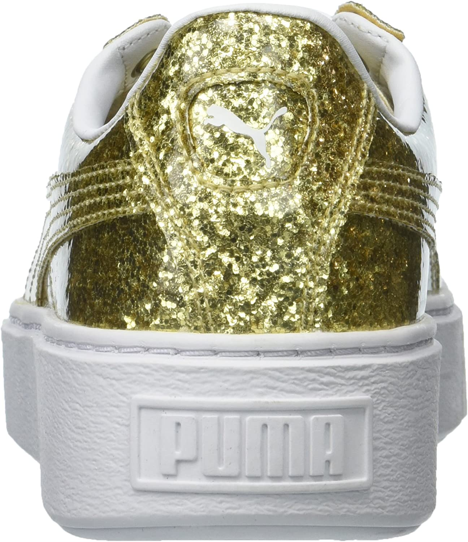 Disco Bastante Anuncio  PUMA Basket Platform Glitter Wn Plataforma para Mujer: Amazon.com.mx: Ropa,  Zapatos y Accesorios